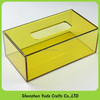 Home Use Waterfall Acrylic Tissue Box,Plastic Toilet Paper Box on Sale