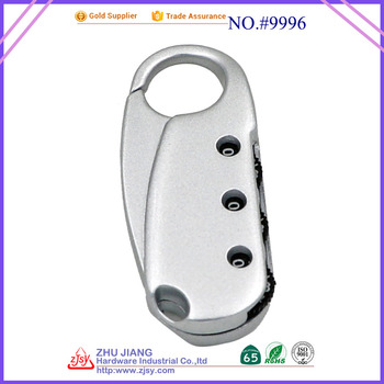 Wholesale Custom tsa reset 3 digit combination padlock
