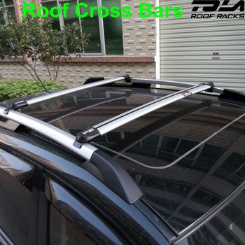 Aluminum Alloy Cross Bar With Key For Hyundai Ix35 Roof Rack Car