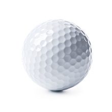 White Color Durable Floating Golf Balsl Manufacturer blank golf ball