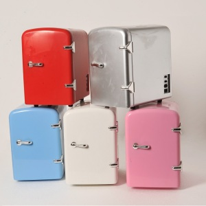 4L Mini Fridge No Freezer Portable small Refrigerator 12v