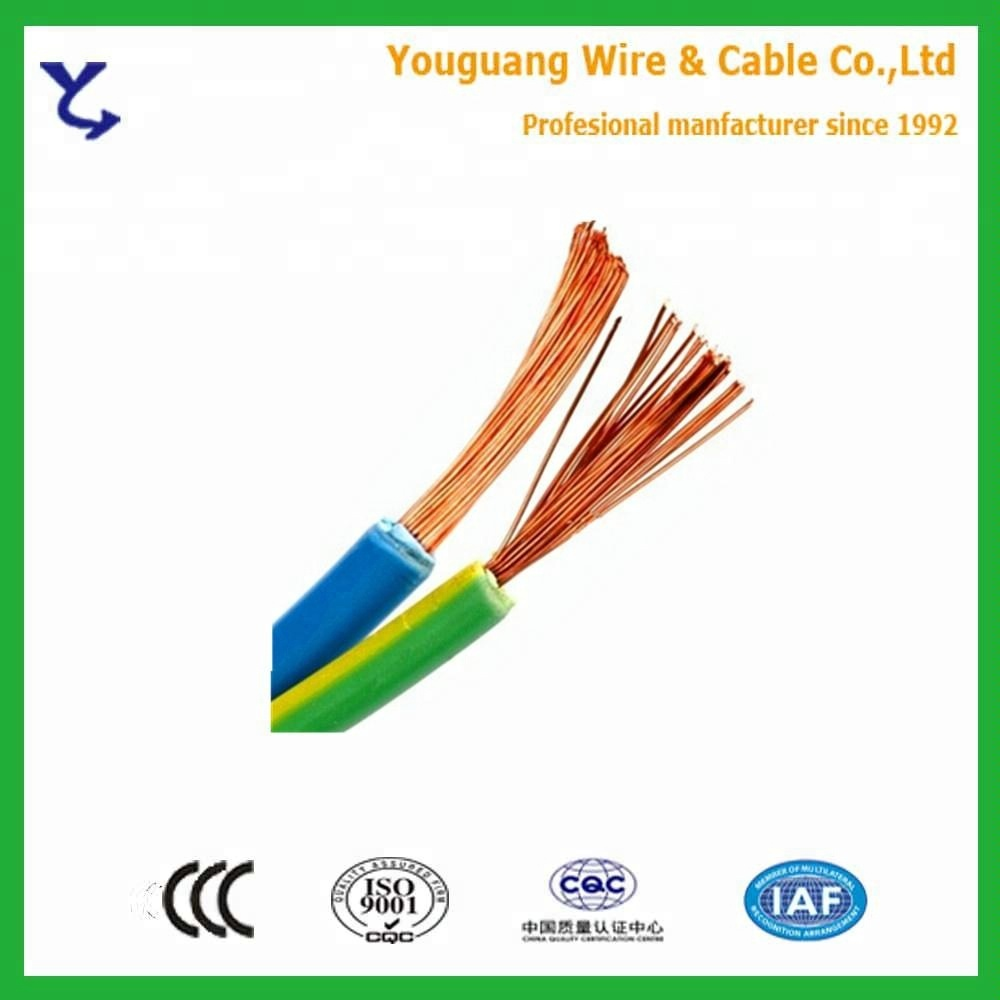 China Flexible Single Wire Wholesale Alibaba Flameretardant Copper Electrical Bv Bvvb Bvr