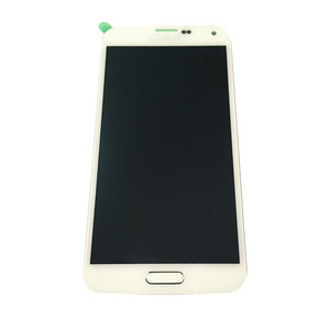 China mobile phone lcds display for Samsung Galaxy S5 I9600 lcd touch screen