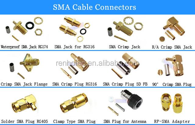 Fiber Optic 90 Degree Crimp Sma 905 Connector Buy Sma