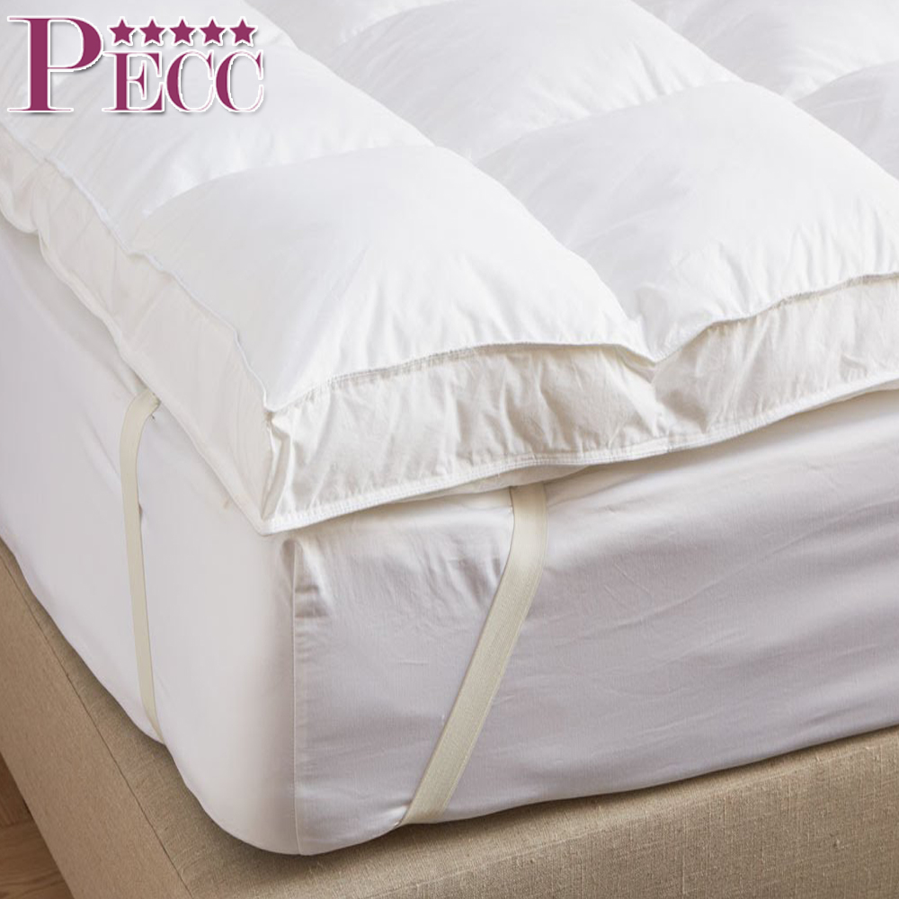 China Cheap Duck Down And Feather Thin Bed Mattress Topper