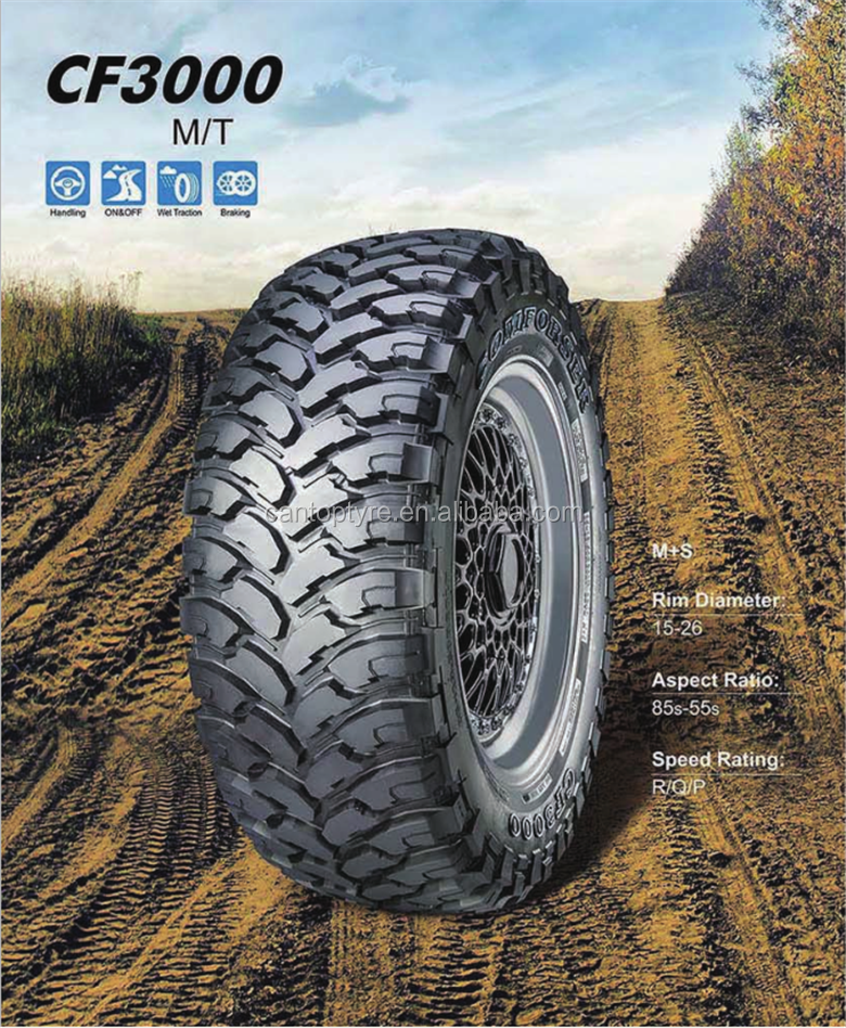 Chinese PCR passenger car tire 235/85R16 LT