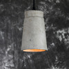 Factory supply Cement lamp holder/cement art lamp/pendant lamp indoor lighting
