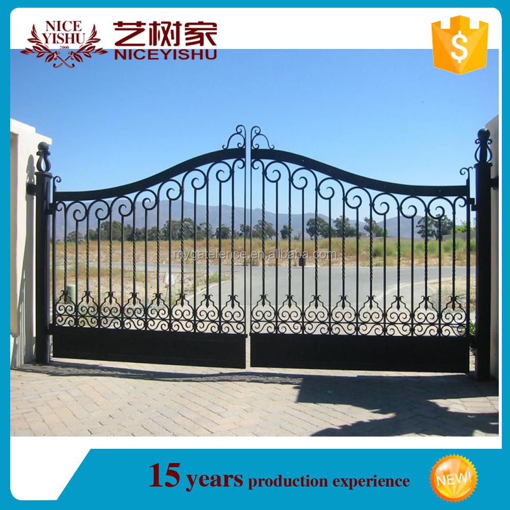 Parrilla de hierro forjado puerta modelos casa ltima for Puertas de hierro forjado para casas