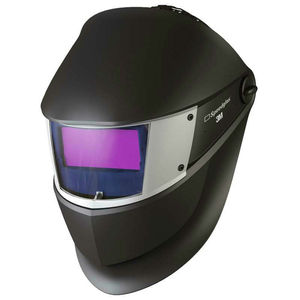 3M Speedglas SL Black Welding Helmet with Auto-Darkening Filter Shade 8-12 Light