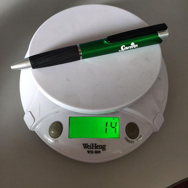 2020 مخصص وصفت الترويجية هدية مصباح ليد توهج الليزر شعار متعدد الوظائف القلم