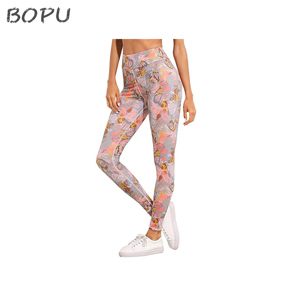 Sexy Fitness Indische Push-Up-Leggings Frauen Sexy Sport Tragen