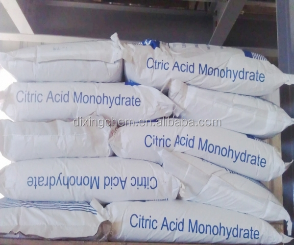 Best Price Food grade Citric Acid Monohydrate / Citric Acid Anhydrous BP98