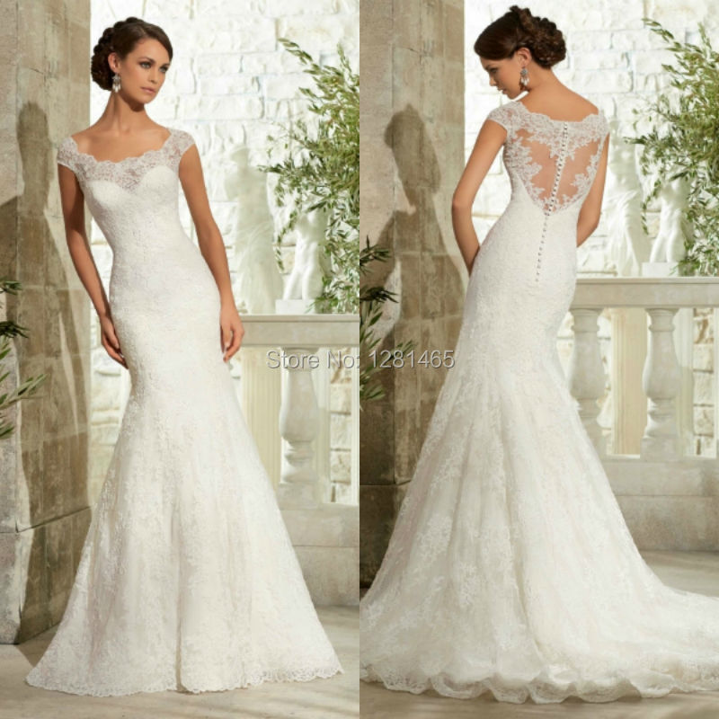 Designer Lace Wedding Dresses Vintage 99