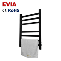 High Quality Ladder Towel Rack Heater Black Electric Towel Warmer Rack