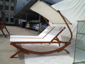 Wooden sun bed,Wooden Sun chair lounger, Patio sunbed --ODF510