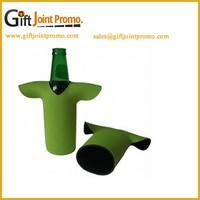 Customized T Shirts Bottle Holder, Shirts Shape Bottle Stubby Neoprene Cooler