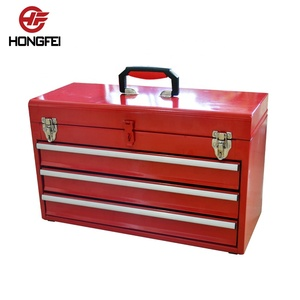 Small Mechanic Fully Equipped Locking Trolley Tool Box For Hand Tools