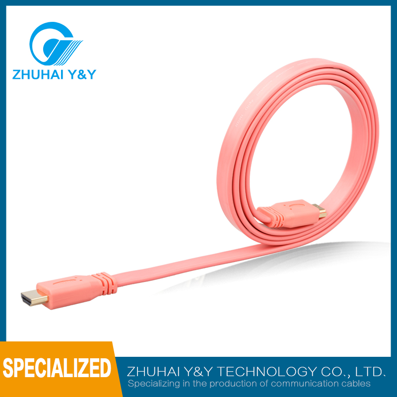 high quality micro hdmi male to male cable 10m for mobile phone