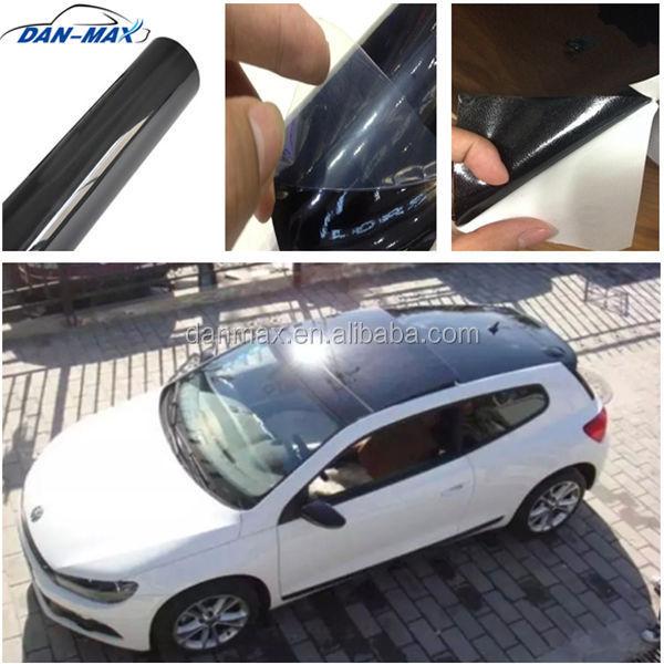 High Glossy Black Self Adhesive Panoramic Roof Sticker Car Sunroof Film    Buy Panoramic Roof Sticker Car Sunroof Film,Car Cover Film,Car Protection  Film ...