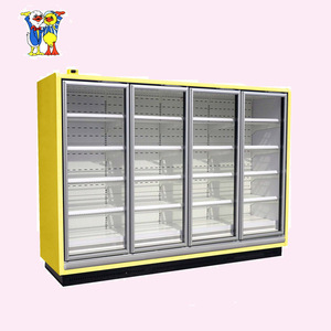 Little Duck used upright display refrigerator showcase chiller E7 ATLANTA CE