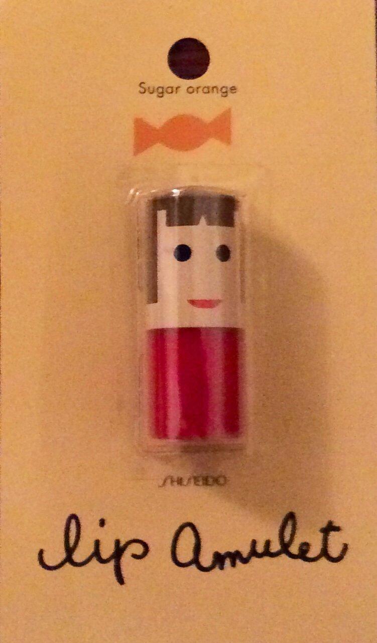 Shiseido Lip Amulet Balm lipstick lip color - Sugar Orange