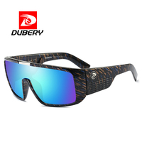 DUBERY UV400 Fashionable Sunglasses Men's Retro Male Sunglasses