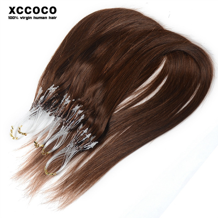 Facotry Easy operation top brazilian fashion colors micro ring hair extensions for white women, micro ring hair accessories