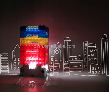 Creative Diy Constructable Led Block Light