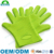 Super thick heat resistant grill bbq gloves, silicone oven gloves