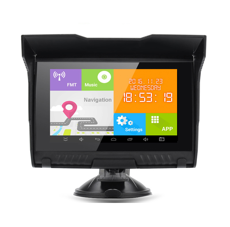"5 ""android motorrad navigator neue private form A-50"