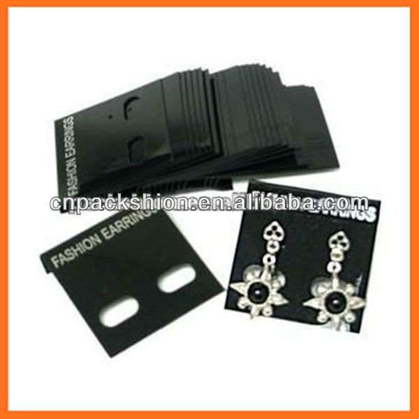 Necklace, Earring & Jewelry Cards