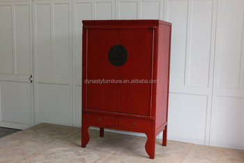 Genial Antique Reproduction Chinese Wedding Cabinet