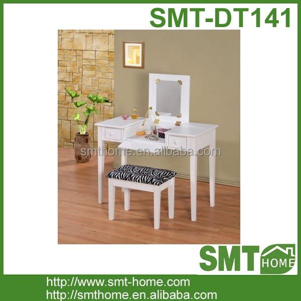 Elegante witte houten kaptafel en kruk dressoirs product id 60399930864 - Kruk voor dressing ...