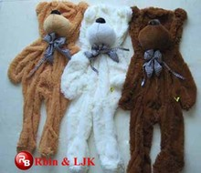OEM soft good quality teddy bear skins wholesale