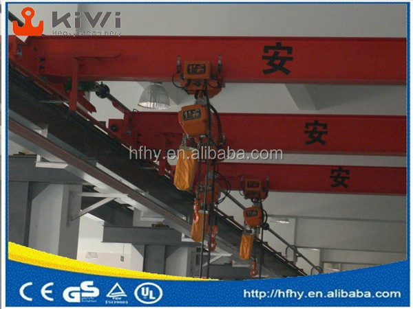 LDA model single girder overhead cranes /LDA Model Motor driven Single Beam Overhead Crane/electric overhead single girder crane