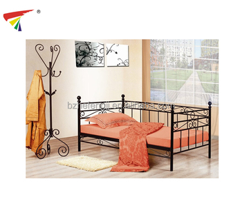 New Design Metal Single Sofa Bed Day Bed Parts For Adults Living