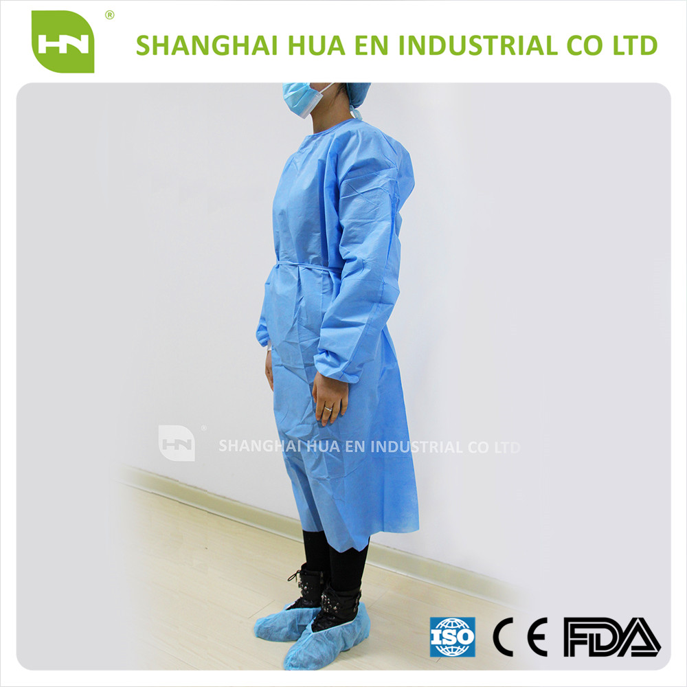 High Quality FDA CE certified sterile disposable surgical gown