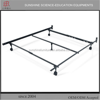T/F/Queen bed frame adjustable roller hotel metal bed frame