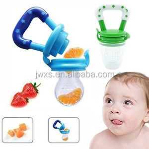 Amazon Hot Sell Food Grade Baby Mesh Pacifier, Silicone Baby Teether