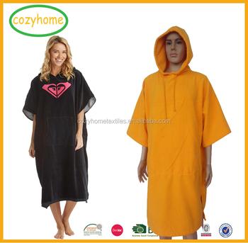 China Supplier Custom Adult Hooded Surf Poncho Beach Hoodie Towel 100%  Cotton Unisex Poncho Surf - Buy Poncho Surf,Hooded Surf Poncho,Adult Hooded