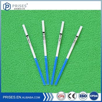 Oem 10 Miu/ml Lh Ovulation Test Strip / Pregnancy Test Kit For ...