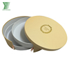 High quality custom printed decorative gift cardboard packing round macaron box