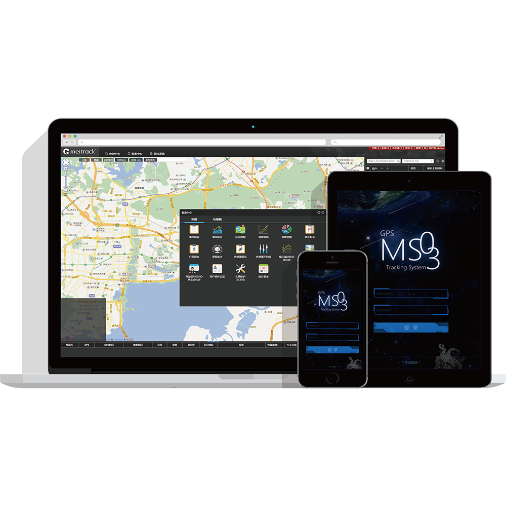 Nieuwe Collectie! Meitrack GPS Tracking Systeem/Computer Tracking Software MS03