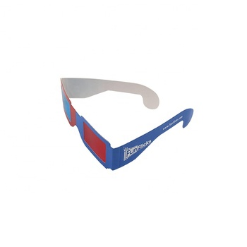 Eco-friendly Material Top Quality Logo Printed Paper 3D Glasses