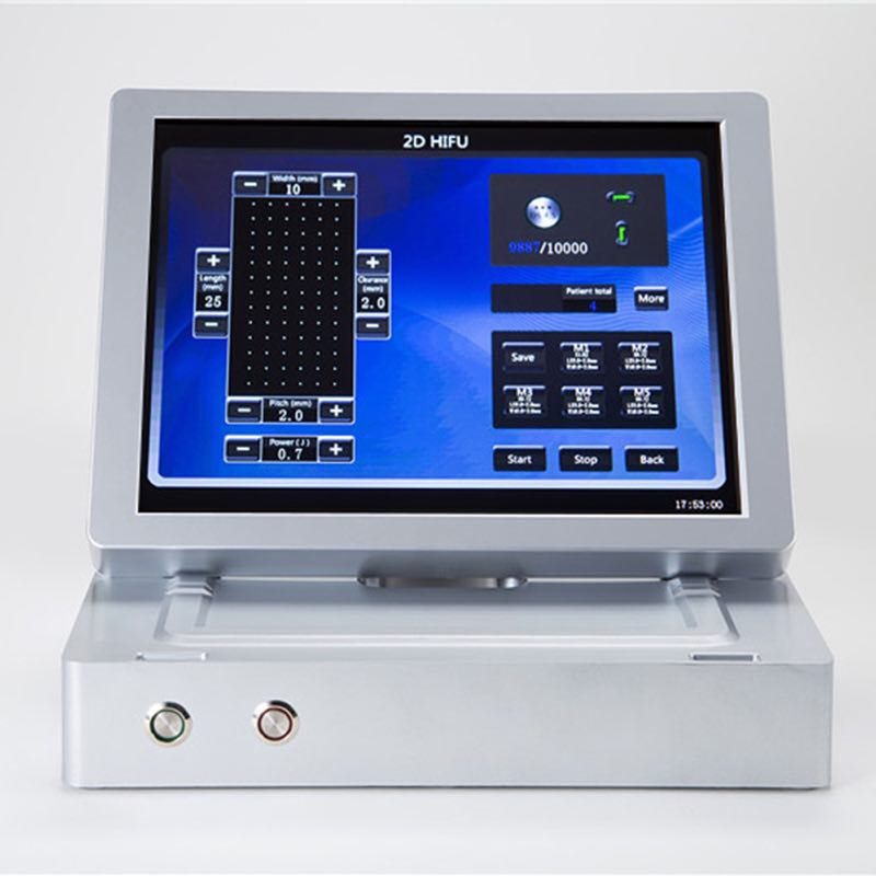 Newest Portable 3d Hifu Focused Ultrasound Machine For Anti Aging Face Lifting