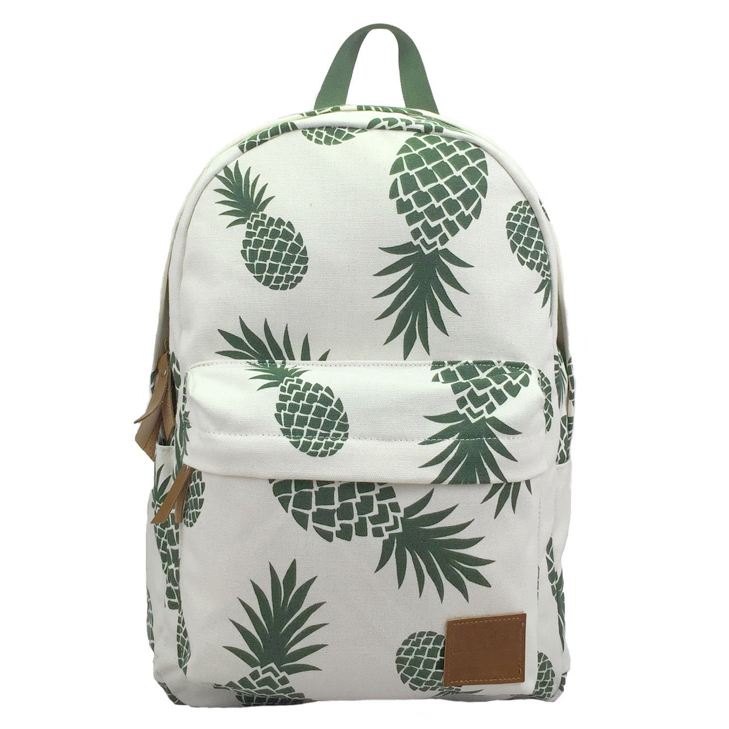 bd68cba34 Get Quotations · Backpacks Pineapple School Bookbag Cactus Daypack  Lightweight Canvas College Bags
