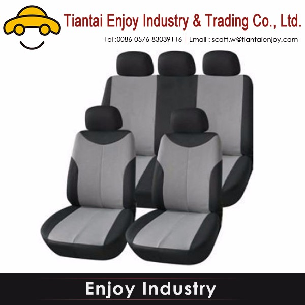 Logo printed Hot sell car seat cover toyota