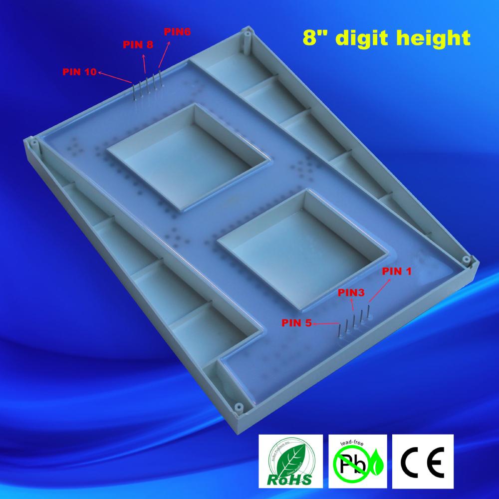 Large 7 Segment Display Big 8 U0026quot  Seven Segment Display 8