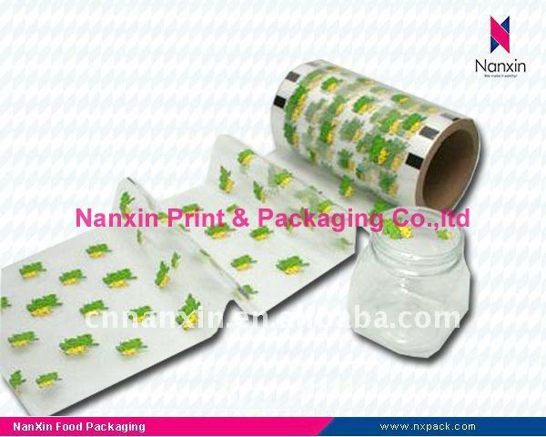 PVC shrink film for bottle label