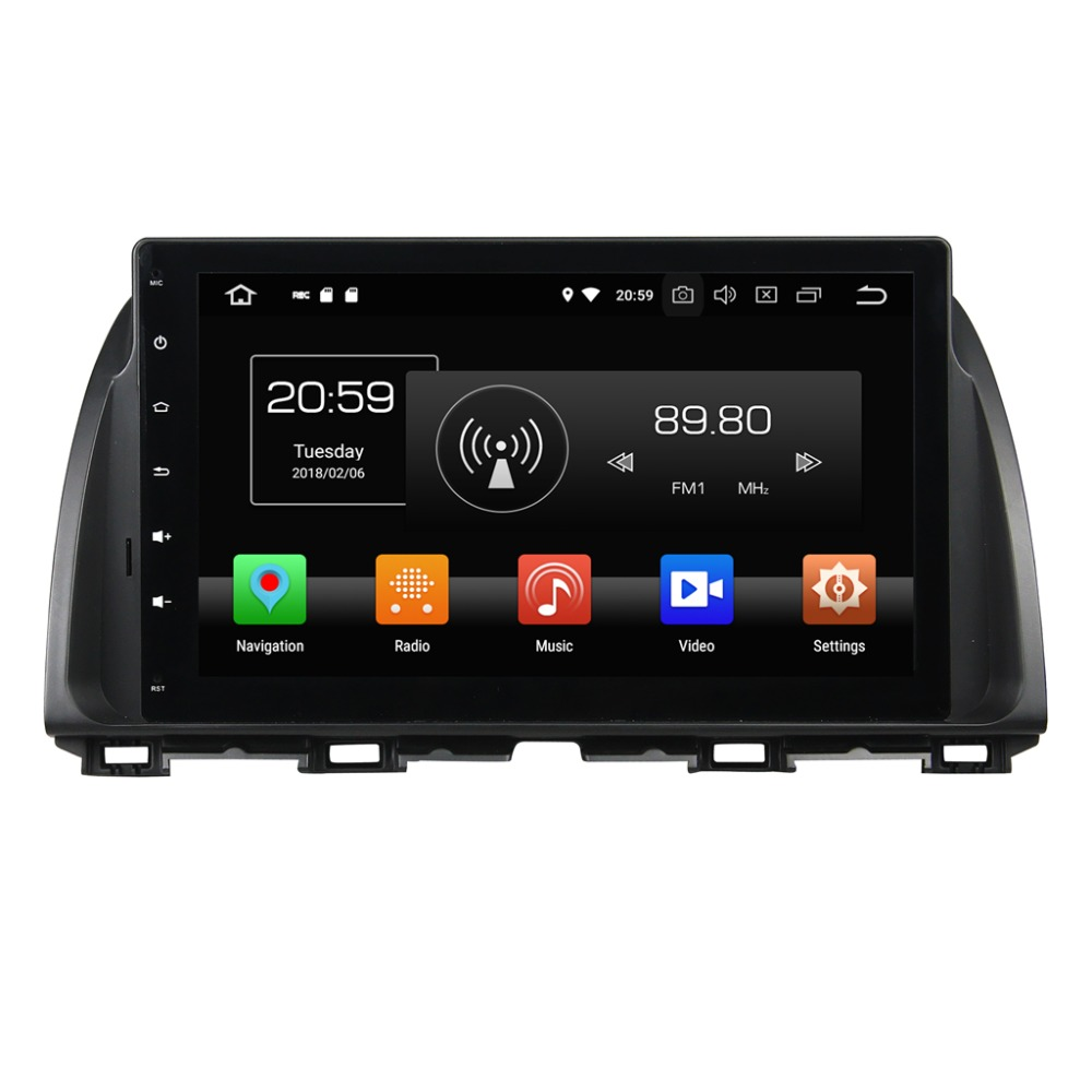 42d17969dadc KD-1065 android 8.0 dashboard 8 core touch screen auto radio car dvd player  for Maz CX-5 ATENZA